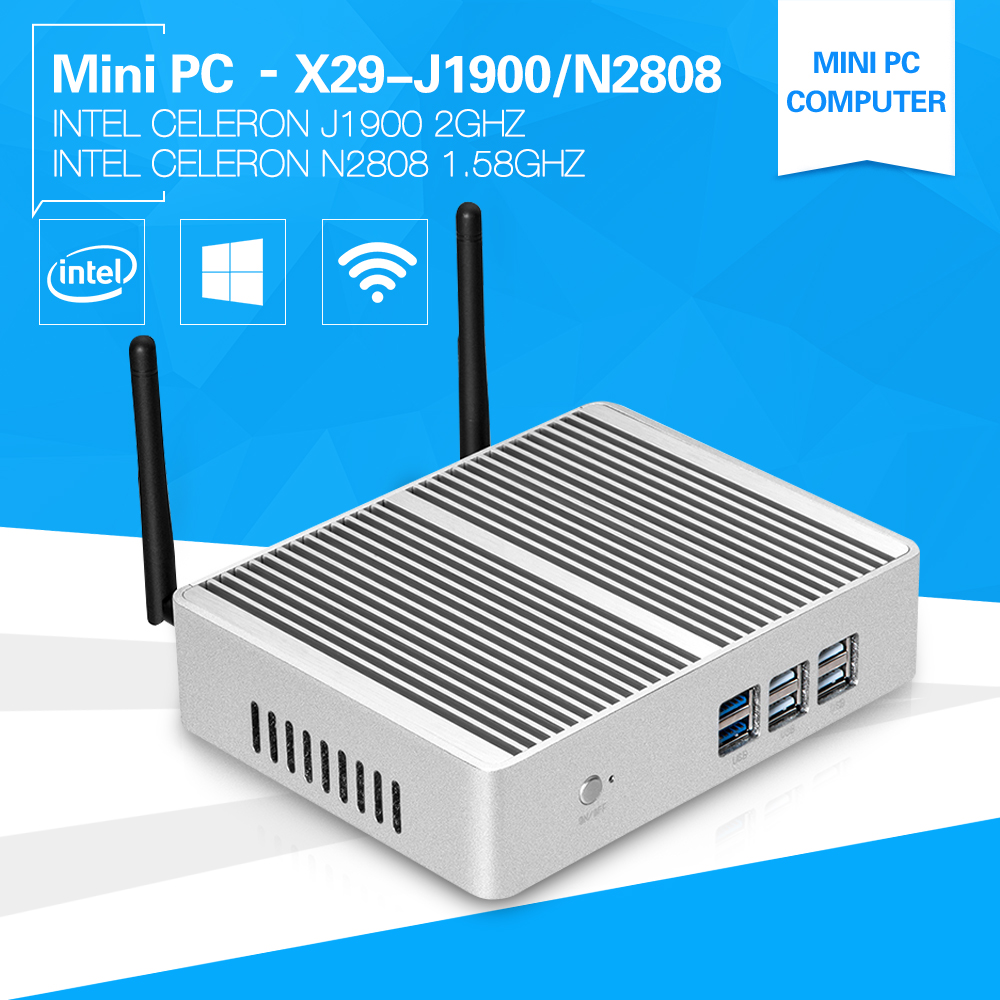 Mini computer windows 10 Pentium N3510 J1900 Quad core 2.0Ghz N2808 two HDMI display port desktop pc 4G Ram USB3.0 HTPC xcy mini pc core i3 6100u hd graphics 520 2 30ghz dual core gaming pc htpc 4k hdmi tv ddr4 300m wifi windows 10 fanless