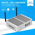 Mini computer windows10 Pentium N3510 J1900 Quad core 2.0Ghz N2808 two HDMI display port desktop pc 4G Ram USB3.0 HTPC