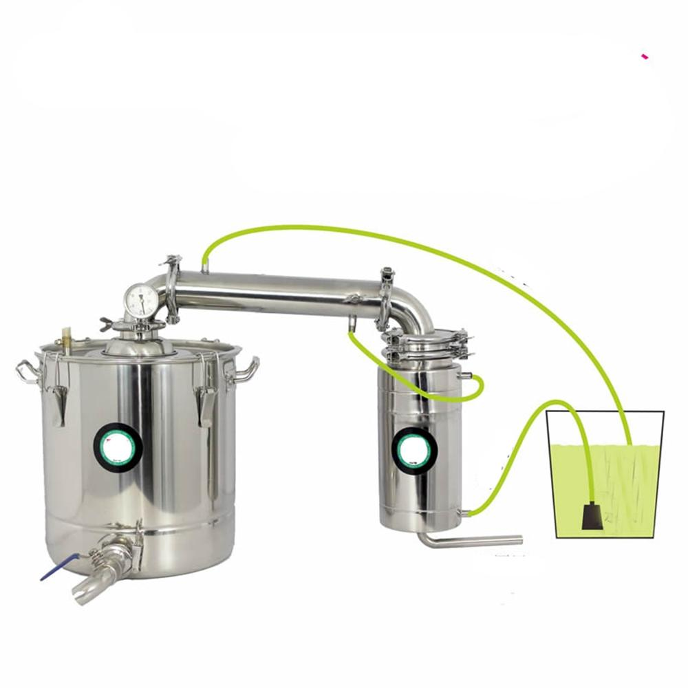 70L Stainless Water Alcohol Distiller Home Brew Kit Wine Making Boiler70L Stainless Water Alcohol Distiller Home Brew Kit Wine Making Boiler
