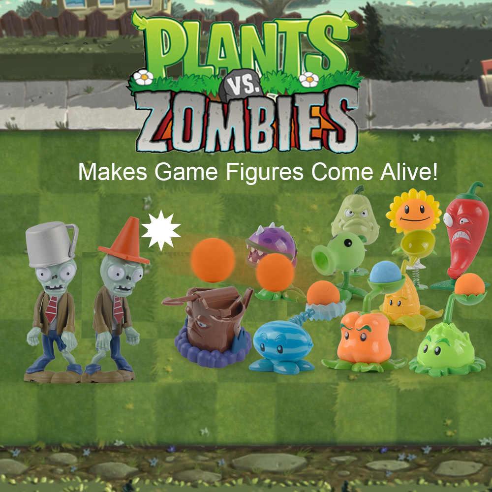9 видов стилей Растения против Зомби мех-Футбол зомби игра фигурка игрушки 8 см-10 см Растения против Зомби Коллекционная игра игрушки для детей