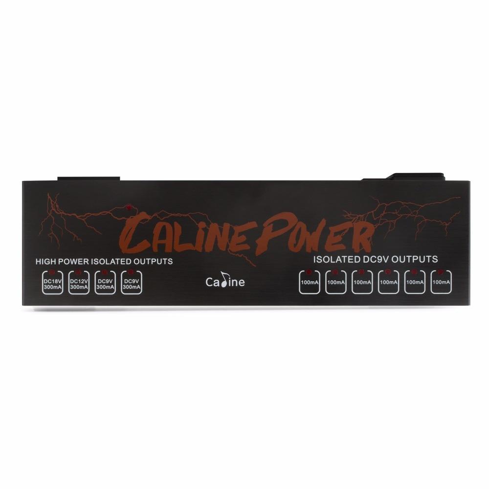 Alta Qualidade Caline CP-08 Verdadeira fonte de Alimentação Isolada 10 Isolado Saídas 110 V-230 V Poder Caline CP08 9 v/12 V/V Poder Efeito De 18