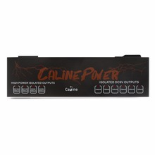 Caline CP-08 True Isolated Power Supply 10 Isolated Outlets 110V-230V Caline Power CP08 9V/12V/18V Effect Power caline p6 guitar effect pedals power supply 8 isolated outputs 110v 120v 220v 240v dc 9v short circuit protection led indicator