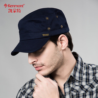 Kenmont In The Autumn And Winter Outdoor Leisure Men Aged Pure Cotton Flat Cap Cap Father