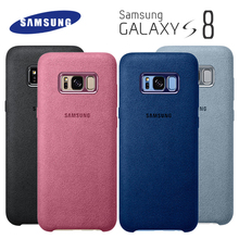 Samsung S8 Case Luxury Original Official Genuine Car Suede Leather Protector Galaxy Plus S8+