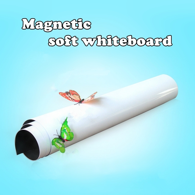 magnetic whiteboard writing flexible removable home decoration message fridge flexible white board for kids memo pad - Magnetic White Board
