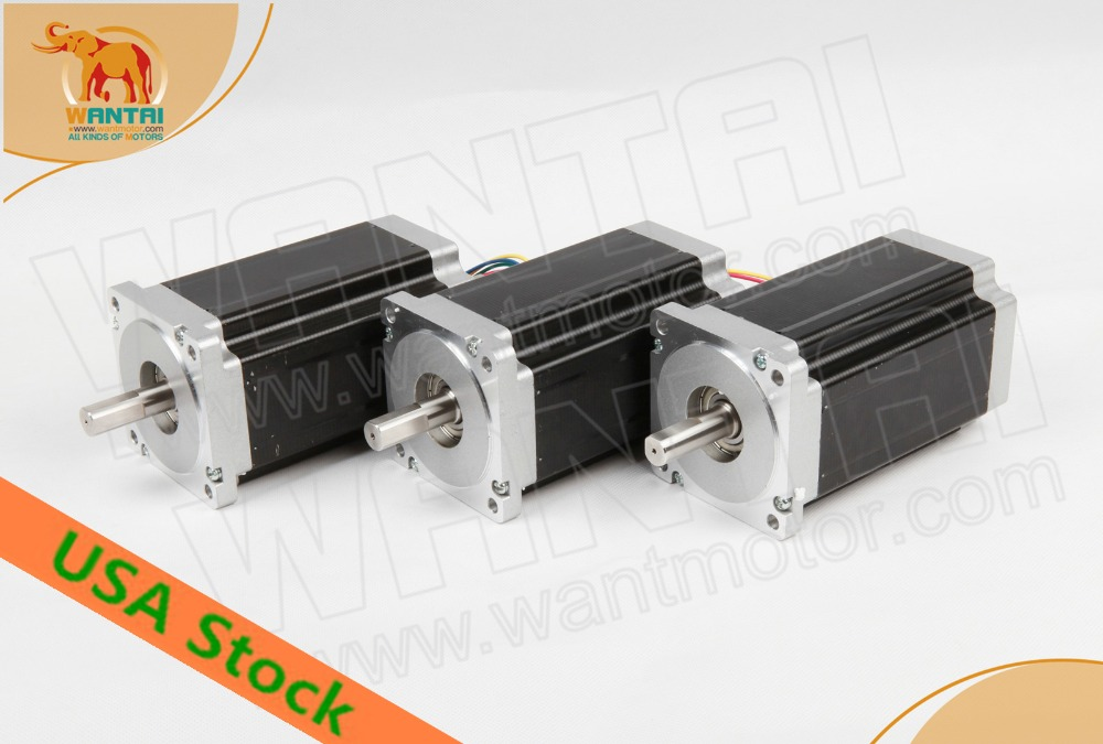 USA GRATIS! CNC Wantai 3 PZ Nema34 Stepper Motor 85BYGH450D-once-in 99mm 5.6A CE ISO ROHS Grind Incisore Kit LaserUSA GRATIS! CNC Wantai 3 PZ Nema34 Stepper Motor 85BYGH450D-once-in 99mm 5.6A CE ISO ROHS Grind Incisore Kit Laser
