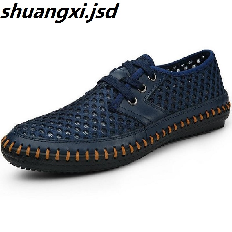 Men Sandals New Arrive Men s Casual Sandals Super Breathable Skynet Lightweight Summer Shoes Breathable Mesh