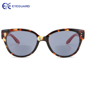 Image 3 - EYEGUARD Women Bifocal Sunglasses Sun readers UV 400 Protection Outdoor Reading and Distance Viewing Fashion Lady Readers Design