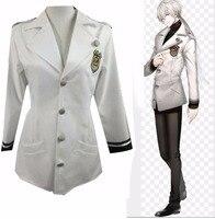 mystic messenger military uniform cosplay costume ZEN Adult Halloween custom made jacket tshirt