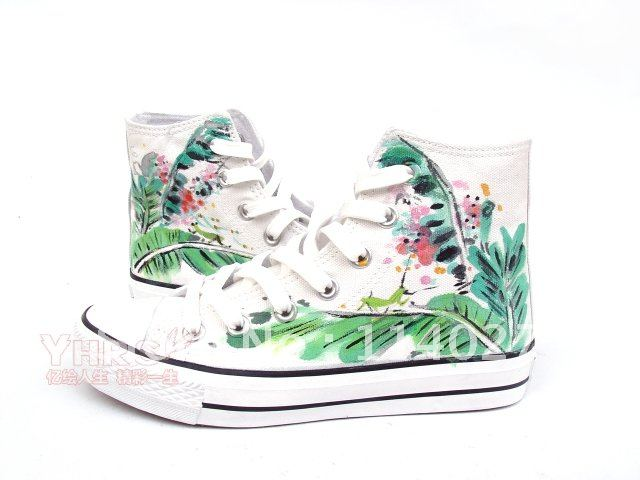 Hand Draw Shoesboot Upper Coloured Drawing Or Pattern Shoes Shoe Charm Pattern Coinspatterns For Wedding Gowns Aliexpress