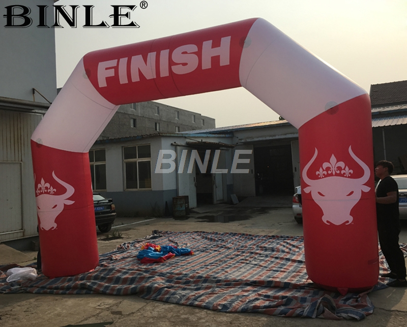 2018 new completed red cheap inflatable finished line arch with factory lower price2018 new completed red cheap inflatable finished line arch with factory lower price