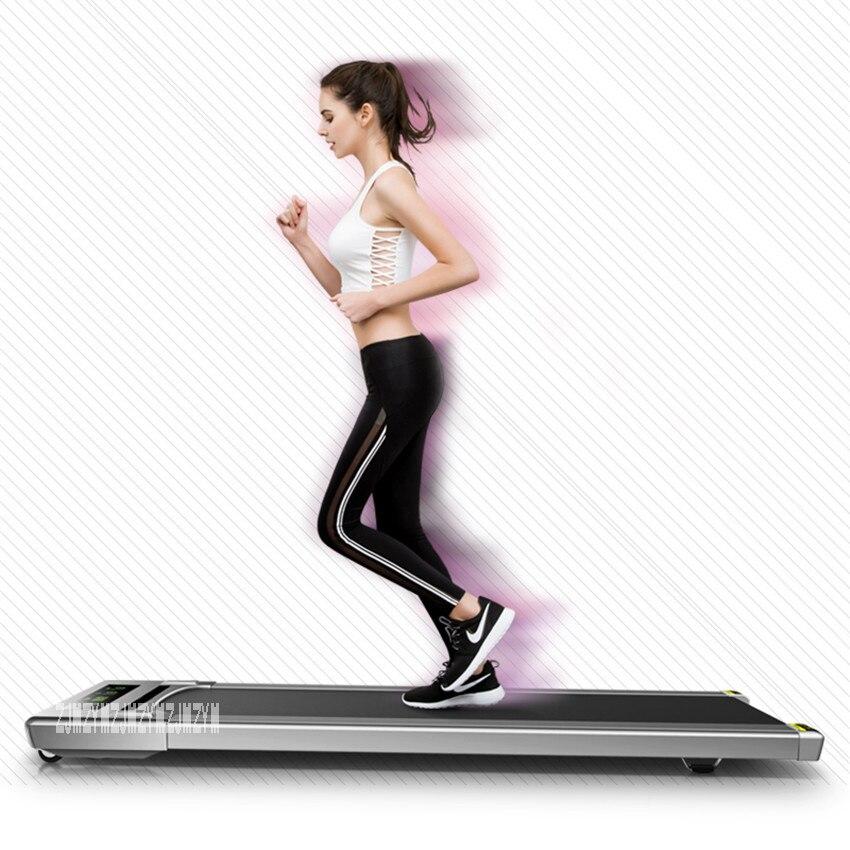 Mini tapis roulant équipement de Fitness facile à courir tapis roulant maison muet tapis roulant plat musculation avec/sans main courante - 3