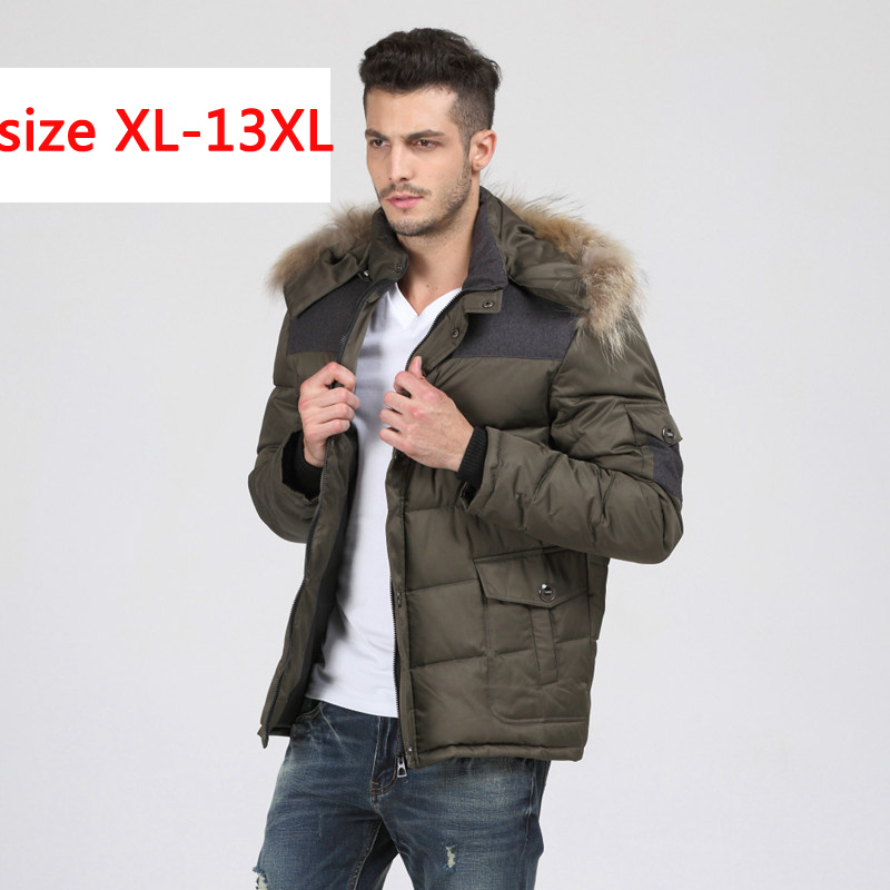 2019 new arrival Fashion men's   down     coat   Obese bust 185 casual thickening plus size XLXXL3XL4XL5XL 6XL7XL 8XL9XL10XL11XL12XL13XL