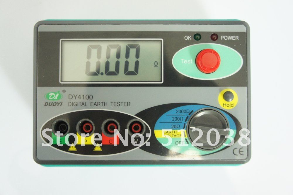 DY4100 Digital Earth Ground Resistance Tester Meter ботинки гравитационные dy bt 166