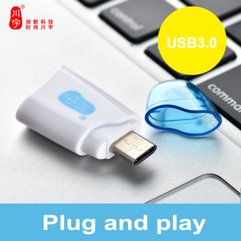 Kawau C332 High Quality USB3.0 Type-c Interface OTG Card Reader max support 128GB Micro SD Micro SDHC Micro SDXC Card Reader ...