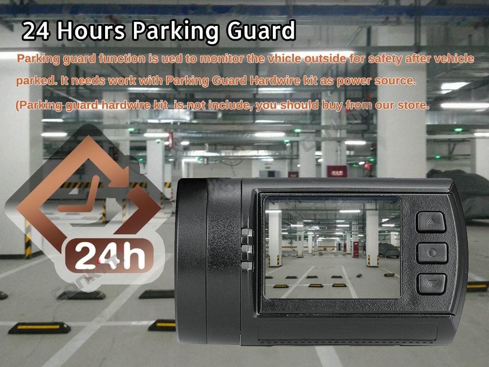 Conkim Dual Lens Car Dash Camera GPS DVR Front 1080P FHD+Rear Camera 1080P FHD Parking Guard Motion Detect Mini 0906 Novatek Cam 10
