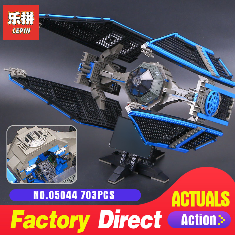 lepin 05044 star limited edition tie fighter Interceptor LegoINGlys 7181 bricks model building kits blocks toys for boys Wars