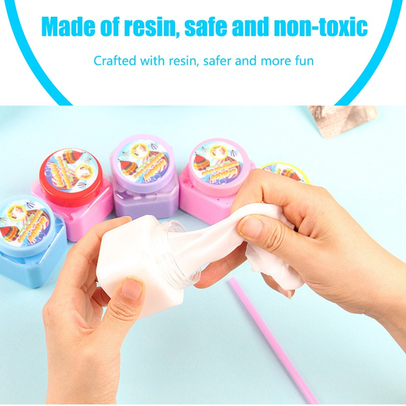 3D Fluffy Floam Slime Scented Stress Relief No Borax 2018 New Arrival Funny 70g DIY Cotton Slime Clay Education Craft Mud Toy colorful diy creative funny egg crystal mud toy for reducing stress
