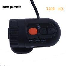 Мини-Автомобиль DVR Камеры Детектор HD 720 P 30FPS с 120 Градусов Широкоугольный Объектив