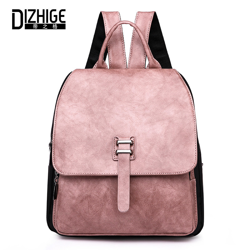 High, Fashion, Girl, Backpack, Teenager, Panelled