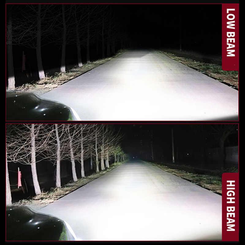 GZKAFOLEE High Power H1 H4 LED CANBUS H7 H11 H8 HIR2 HB3 HB4 9005 9006 H13 XHP50 Car Headlight Bulbs auto fog light 4300k 24 12V