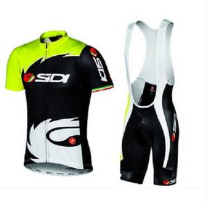 54d576dda New Arrived Castelli Sidi Short Sleeve Cycling Jersey Sets Ropa Ciclismo  Breathable MTB Bike Clothes Anti-UV Bicycle Clothing