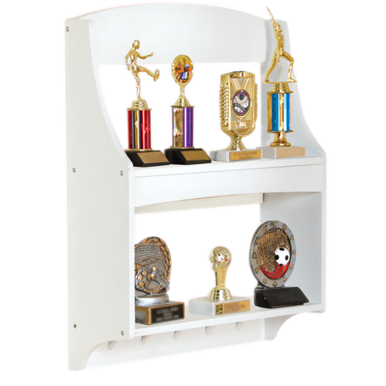 GuideCraft Expressions Trophy Rack: White guidecraft expressions trophy rack natural