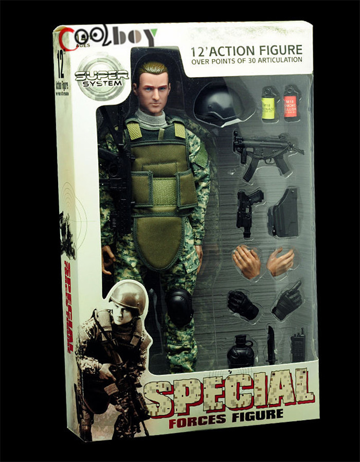 1//6th SDU NB05A Military Army Soldier Action Figure Uniform Clothing Suits Model