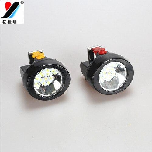 50Pcs/Lot Free SHipping Mexico Miners <font><b>Best</b></font> Like YJM-KL2.8LM(B) 3W 18650 2800Mah Headlamp/Headlight/Protable Lamp for Sale