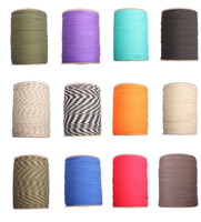 100meters Paracord 550 Paracord Parachute Cord Lanyard Rope Mil Spec Type III 7Strand 100FT Climbing Camping