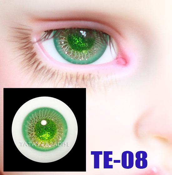 14mm 16mm BJD Eyes green pupil shimmy green Eyeballs for 1 3 1 4 1 6