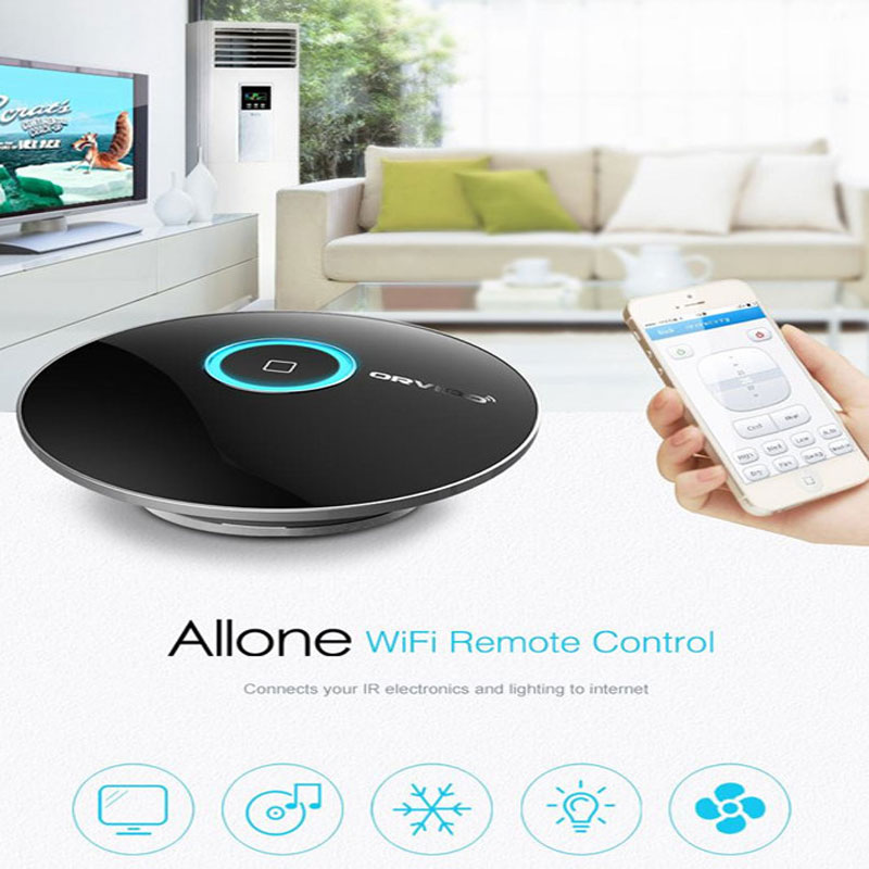 Orvibo Allone Wiwo R1,Smart Home Automation, Intelligent Remote Controller,WIFI IR RF Wireless Remote Switch For IOS Android 20 orvibo allone wiwo r1 wifi ios android