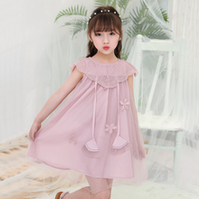 Teenagers Girls Dress Wedding Party Princess 2018 New Summer Christmas Dresses For Girl Filles Costume Kids Girls Clothing недорго, оригинальная цена