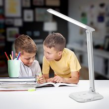 LED Reading Table Lamp LED USB Charging Book Light Bedside Lamp Luminaria for Study Office Work Room Bedroom Night light(China)