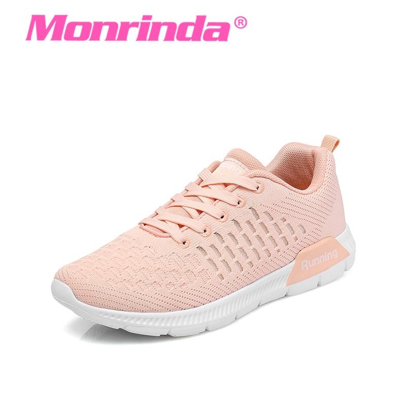 802f2240e13 Buty damskie buty do biegania modne trampki oddychająca lady buty ...