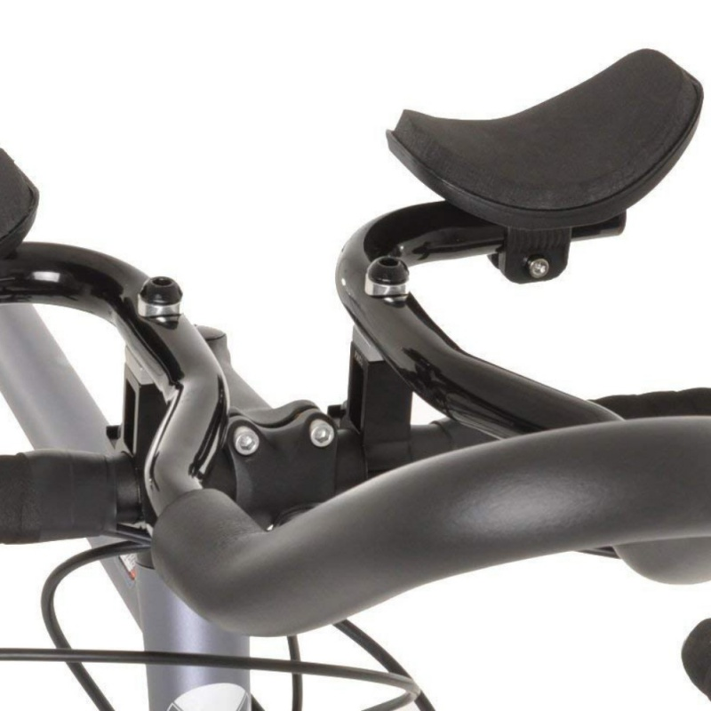 Front Rest Black Bicycle Handlebar Jetting-road Mountain Bike Bicycle Aluminium Arm Relaxation Handlebar Rest Office & School Supplies