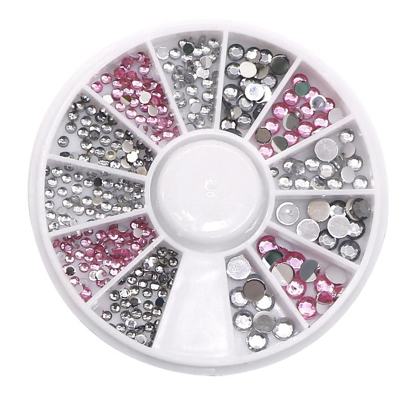 5 Pcs Nail Art Décorations Pour Manucure Nail Design Femmes Glitters DIY  Strass Pour 3D Nails Art Charmes Beauté Maquillage outils b4ae38f49c7
