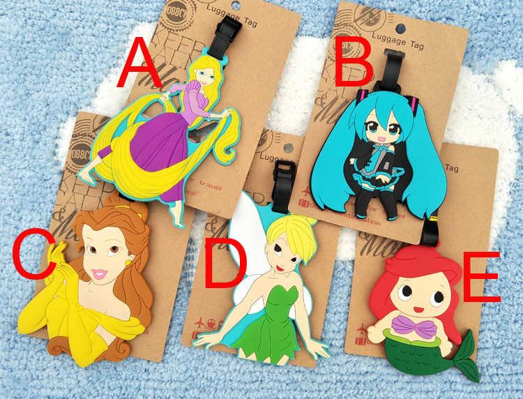 Hatsune Miku Lulu Morbido Azione Anime Q Figure Del Fumetto Dei Bagagli DEL PVC Decorativo Valigia Figura Ornamenti Tag Giocattolo Nuovi Regali