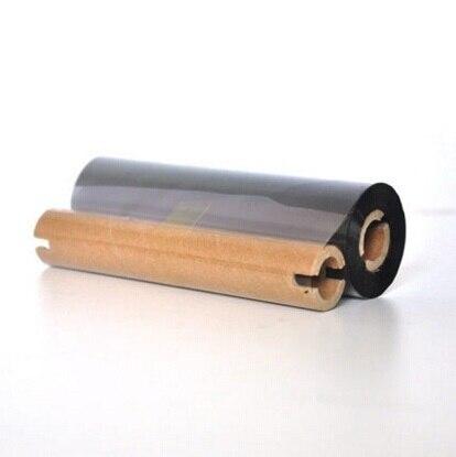เรซิ่นสีดำความร้อนprinteริบบิ้น110*90เมตรสติ๊กเกอร์โอนกระดาษริบบิ้นม้วนสำหรับQ8เครื่องพิมพ์ฉลากแท็กพิมพ์กาว