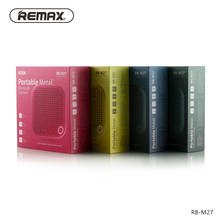 M27 Mobile phone small speaker Bluetooth mini portable Creativ e audio Metallic Wireless sound box