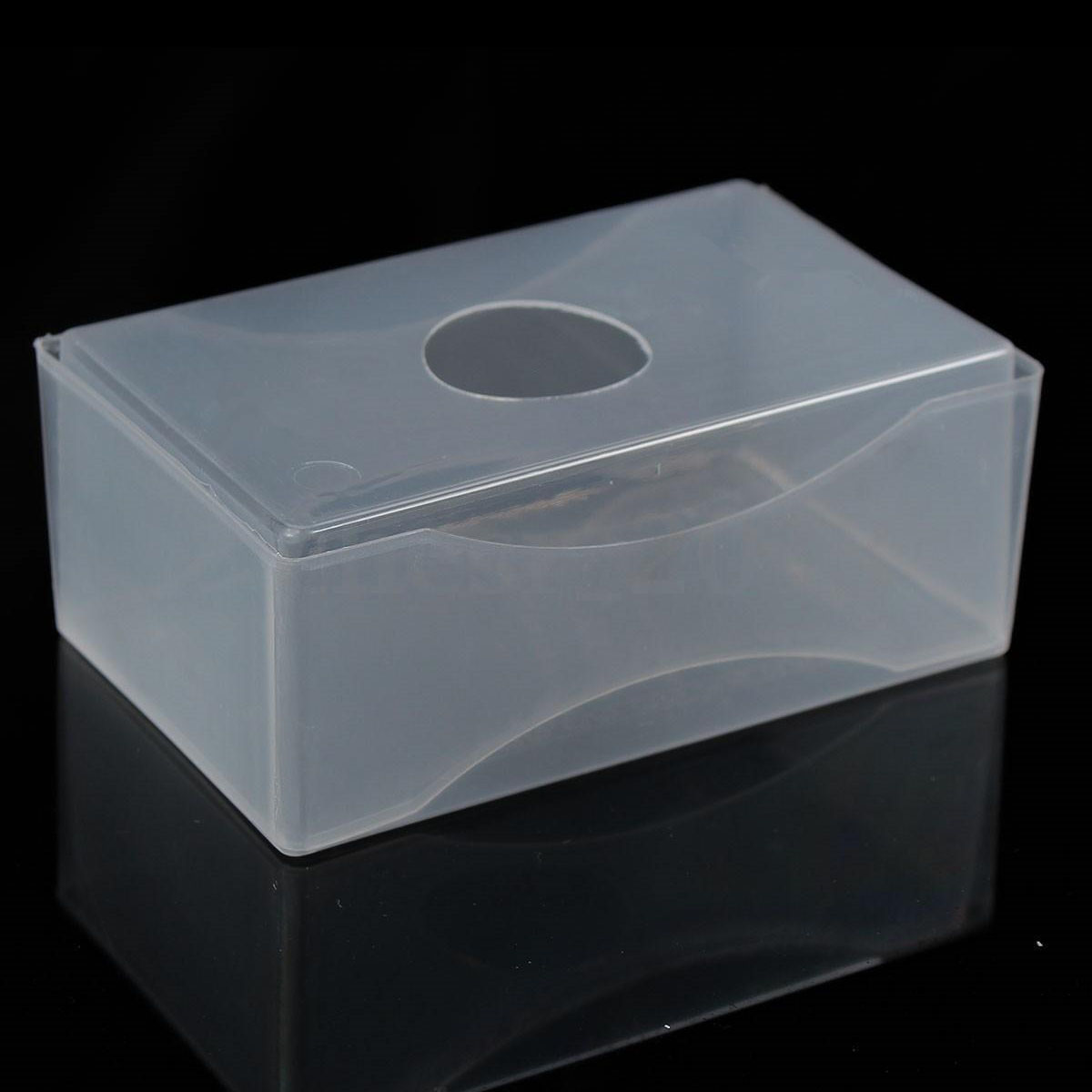 Wholesale 5pcs of 10 x business card box plastic holders clear craft wholesale 5pcs of 10 x business card box plastic holders clear craft beads container storage boxes white in business cards from office school supplies on colourmoves