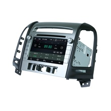 Android 8.0 Octa Core 2 din 7″ Car Audio DVD GPS for Hyundai Santa Fe 2006-2012 With Radio 4GB RAM Bluetooth WIFI USB 32GB ROM