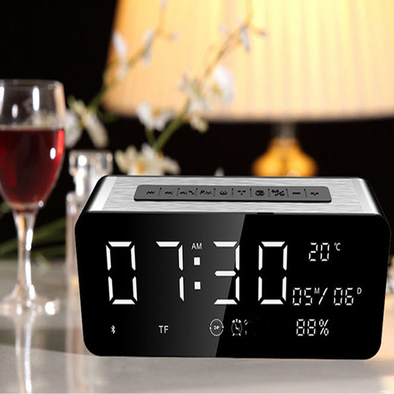 Wireless Bluetooth Card Subwoofer with Outdoor Speakers Alarm Clock Receiver Distance Hands-free Calling Clear FeaturesWireless Bluetooth Card Subwoofer with Outdoor Speakers Alarm Clock Receiver Distance Hands-free Calling Clear Features
