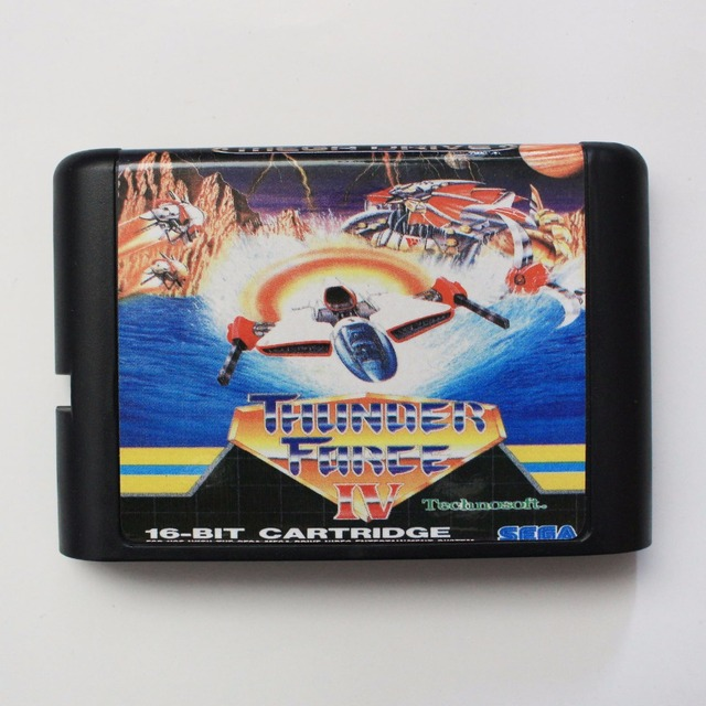 Thunder Force IV - Sega Mega Drive For Genesis
