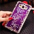 For Samsung Galaxy J5 Case Glitter Handmade Bling Liquid Star Quicksand Diamond Case For Samsung Galaxy J5 A3 A5 A7 2016 S7 Edge