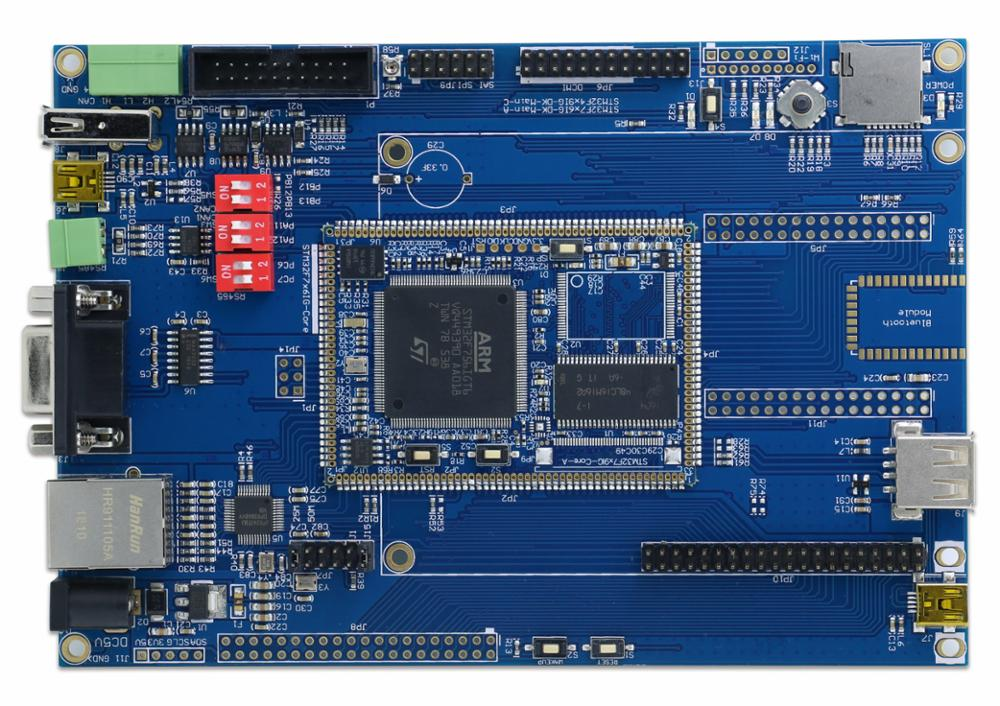 STM32F756IG backplane + core board network, USB CAN, SD, M7 kernel, with SDRAM - 2