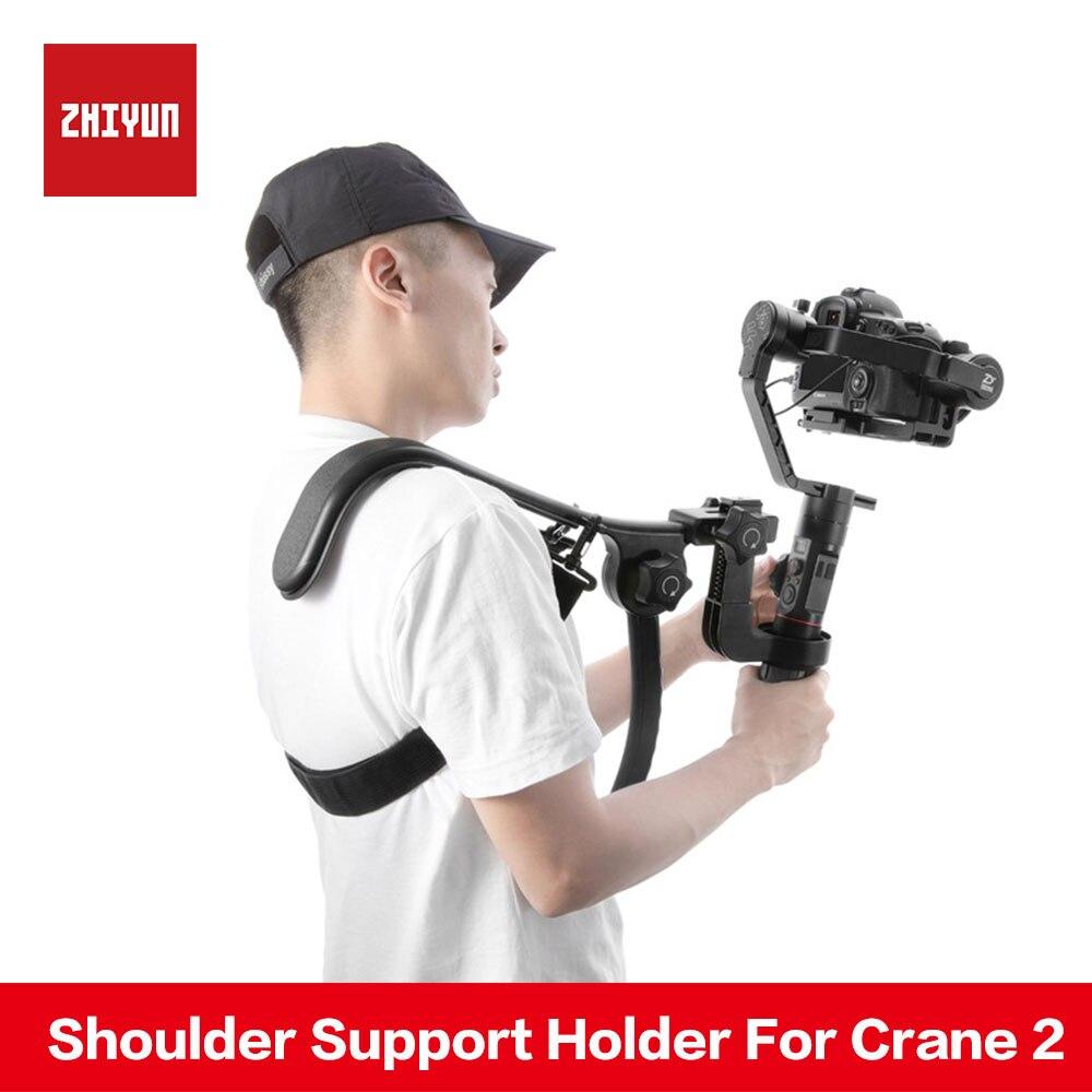 Zhiyun кран 2 карданный интимные аксессуары платформа поддержки плеч ручка держатель подобные как Easyrig ReadyRig Atalas