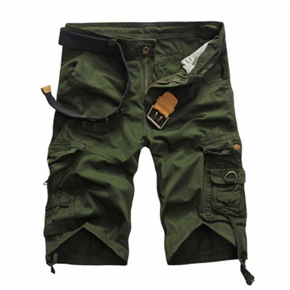 Шорты-карго мужские, крутые камуфляжные повседневные шорты, летние тонкие шорты, спортивные штаны для бега, хлопковые брендовые камуфляжны...