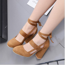Women Sandals Ankle Strap Perspex High HeelsPU Clear Crystal Concise Classic Buckle Quality Shoes