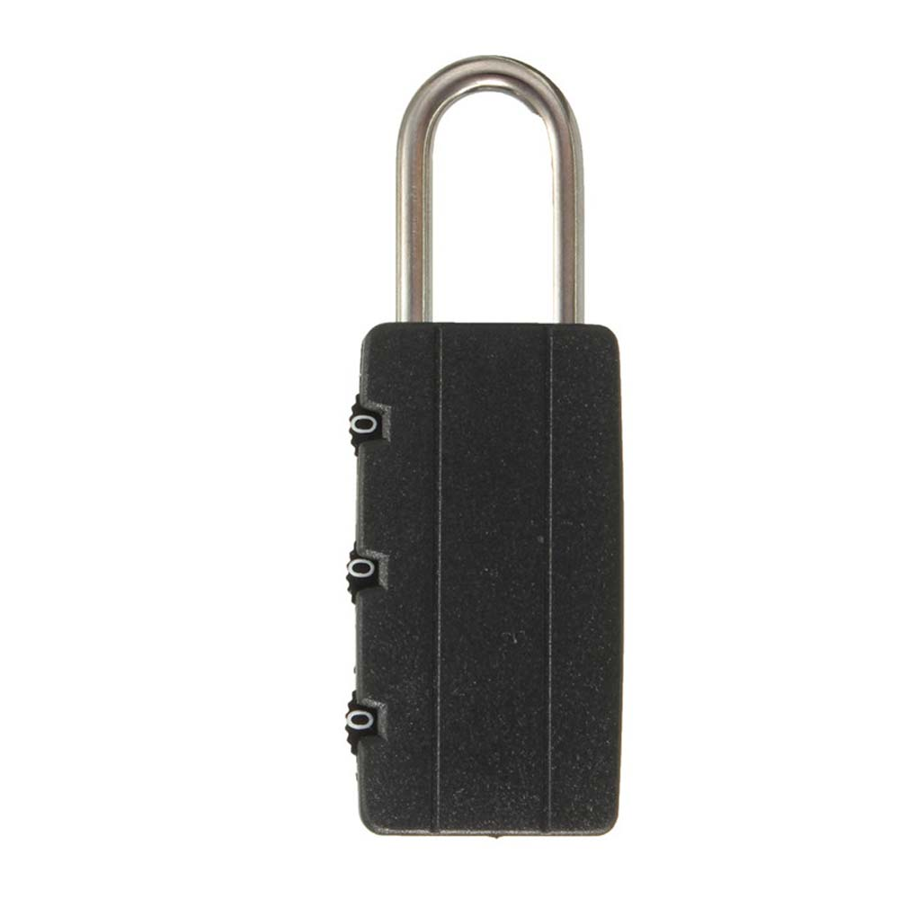 Extendable Wire Security Cable Lock Anti Theft Rope 3Digit Password Padlock NMBX